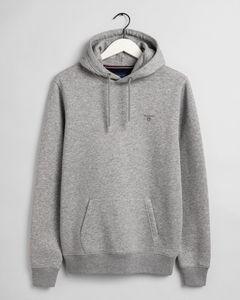 Gant Herren Kapuzenpullover Original Sweat Hoodie, Größe:XXL, Farbe:Grau-Melange(93)