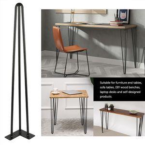 4x Hairpin Legs Tischbeine Möbelfüße Schreibtisch &Esstischbeine Zubehör DIY - 71cm