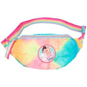 Depesche 10730 TOPModel Crossbag Bauchtasche NICE Batik-Optik Regenbogen