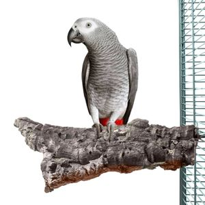 Vogel-Sitzbrett aus Natur Kork - Large