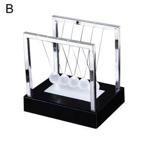Newtons Cradle Led Licht Up Kinetische Energie Bš¹ro Wissenschaft Spielzeug Decor