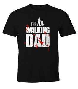The Walking Dad Shirt Herren T-Shirt Fun Moonworks®  L