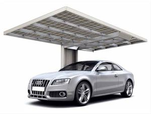 Carport XIMAX Neo Aluminium Typ 90 Standard ES 495x276x243cm