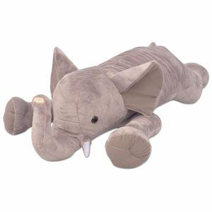 vidaXL Kuscheltier Elefant XXL 95 cm