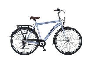 28 Zoll Herren Trekking City Fahrrad Citybike Cityrad Trekkingfahrrad Trekkingrad Herrenfahrrad Cityfahrrad Herrenrad Rad Bike Beleuchtung STVO ALTEC 7 Shimnao Gang Travel Matt GRAU 50 cm
