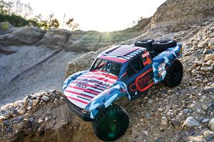 Carson 1:10 RC Amphi Pow. Truck  2.4Ghz100 % RTR orange