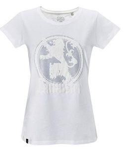 GOZOO Game of Thrones T-Shirt Damen Winds of Winter - House Lannister weiss: XL / Weiß