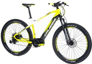 "29 Zoll Elektrofahrrad MTB E-Bike Modell e-Largo 8.6-S CRUSSIS 2021 630Wh 17,5Ah Bafang 80Nm 250W Pedelec Rahmenhöhe 20"" (51 cm) Gelb/Schwarz/Weiß"
