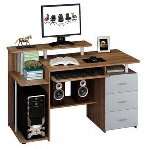 STELLA | 137x60 - Schreibtisch Nussbaum