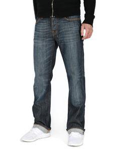 Nudie Bootcut Jeans - Bootcut Barry Cold Denim, Größe:W33, Schrittlänge:L32