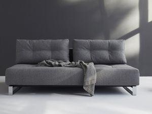 Innovation Schlafsofa Supremax Deluxe Grau oder Blau - Taschen-Federkern