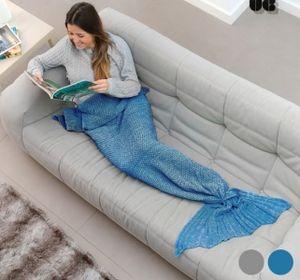 Sirena Snug Snug One Mermaid Decke Grau