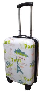 Motiv Trolley Koffer Reisekoffer Hartschale Boardcase Handgepäck Kurzreise