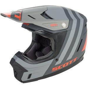SCOTT MX Helm 350 EVO Kid Plus Dash ECE black/orange M