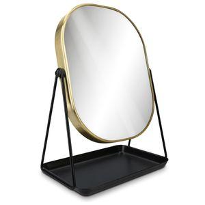 Kosmetikspiegel mit Schmuckaufbewahrung