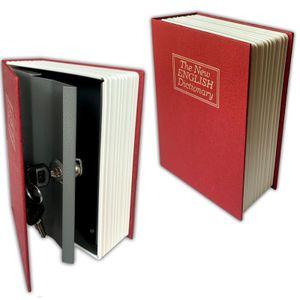 2er Set Büchersafe Buchattrappe | Geldkassette Buch Attrappe Inkl. Schlüssel | Buchsafe Bücher Safe | Buchtresor Wörterbuch Geheimsafe