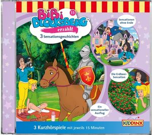Bibi Blocksberg - Folge 11: Sensationsgeschichten - CD