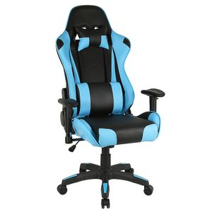 WYCTIN Bürostuhl Chefsessel Gaming Drehstuhl Schreibtischstuhl 120kg Farbe:schwarz/Hellblau