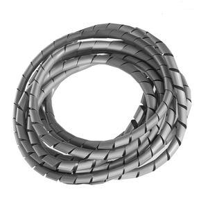 Flexible Kabelspirale Spiralband Kabelschlauch Bündelbereich Wickelschlauch 3m