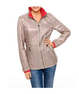 Heine - Best Connections Damen Stepp-Wendejacke, koralle-sand, Größe:40