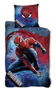 Marvel bettbezug Spiderman140 x 200 cm Polyster blau