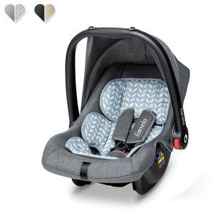 Lionelo Noa babyschale Kindersitz baby autositz Gruppe 0+ 0-13 kg Grau