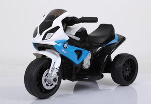 Kinder Elektromotorrad Bmw Kindermotorrad Dreirad Elektro Lizenz, Farbe:Blau
