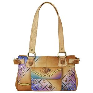 Greenland Art + Craft Leder City Bag Shopper Handtasche 8010-01