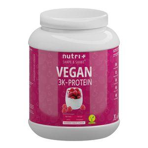 Proteinpulver Vegan - veganes Eiweißpulver - Protein Shake 3K ohne Laktose - Eiweiß Raspberry Joghurt