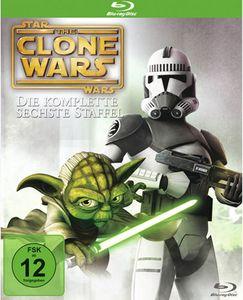 Star Wars - The Clone Wars - Die komplette 6. Staffel BluRay