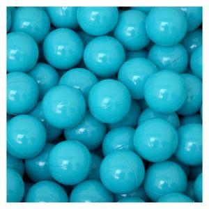 50 Bälle für Bällebad 5,5cm Babybälle Plastikbälle Baby Spielbälle Türkis