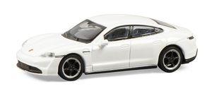 Schuco 452655800 - Porsche Taycan, weiß 1:87
