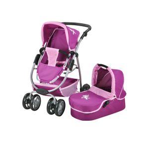 """Puppenwagen Coco - """"UMA.Das Einhorn"""" purple"""
