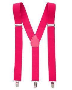 80's Hosenträger in Pink