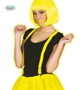 Fiestas Guirca hosenträger Polyester gelb Einheitsgröße