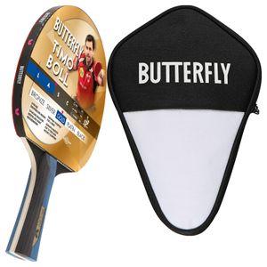 Butterfly 1x Timo Boll Gold 85021 Tischtennisschläger + Tischtennishülle | Tischtennisset Tischtennis Set TT Tabletennis