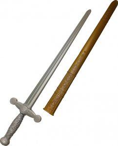 ritterschwert Junior 75 cm silber/gold 2-teilig
