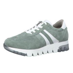 Tamaris Damen Sneaker Valla 23749 mineral suede (grün), Größe:42