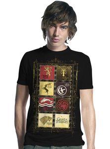 Game of Thrones T-Shirt Häuser-Wappen Gr. XL - T-Shirts