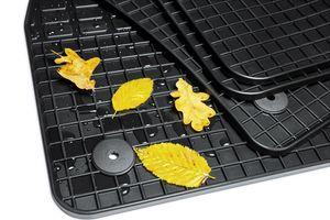 Gummimatten für VW Passat B8 Variant Limo Original Qualität Gummi Fußmatten , Farbe:schwarz