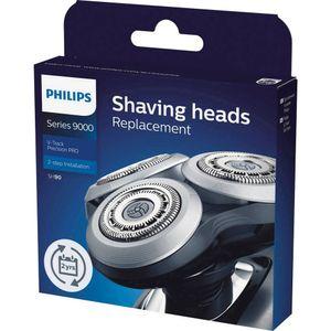 Philips SH 90/70 V-Track Pro Ersatzscherkopf für Series 8000 und Series 9000, Farbe:Silber