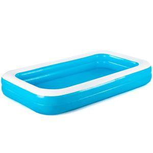 Bestway Schwimmbecken Rechteckig 305 x 183 x 46 cm Blau