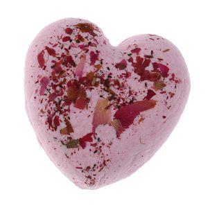 1 Stück Badebombe Ball 60g Pinke Rose