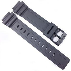 Casio Uhrenarmband 18mm Resin Grau MRW-S300H-8BV MRW-S300
