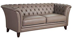 Max Winzer Norfolk Sofa 2-Sitzer - Farbe: stone - Maße: 169 cm x 86 cm x 78 cm; 2965-2100-9360011-F07