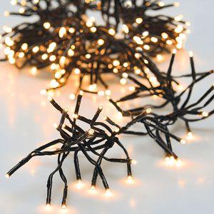 cluster beleuchtung 576 led 4,2 meter schwarz