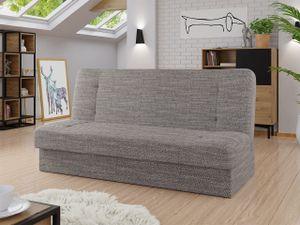 Mirjan24 Schlafsofa Zelka, Sofa mit Bettkasten und Schlaffunktion, Polstersofa, Wohnzimmer  (Farbe: Lawa 05)