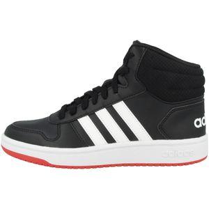 adidas Hoops Mid 2.0 K Jungen Sneaker high in Schwarz, Größe 5