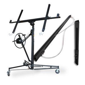 SET: Plattenheber Paneelheber Montagehilfe XL + Verlängerung 140 cm max. 68 kg