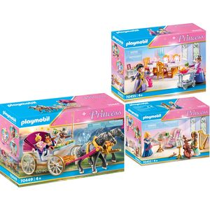 PLAYMOBIL 70449-52-55 Princess 3er Set Romantische